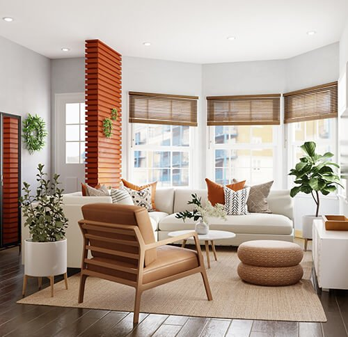Modern home redesign
